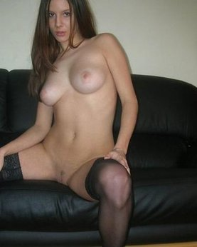 Brunette with nice tits and small pussy - Hot Private