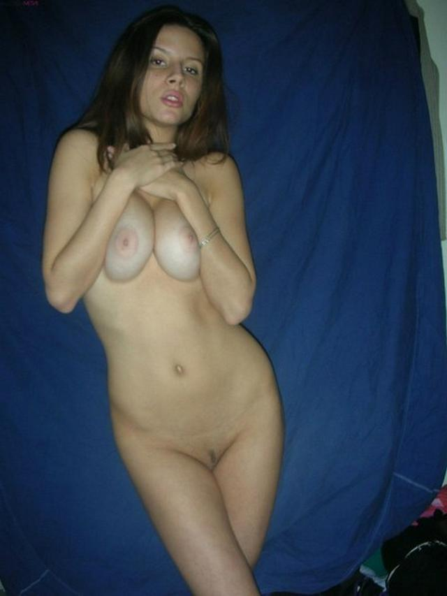 Brunette with nice tits and small pussy - Hot Private 12 photo