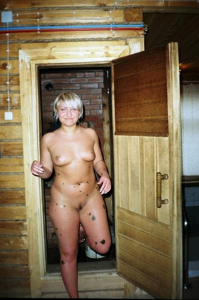 Naked sluts steamed in hot sauna 2 photo
