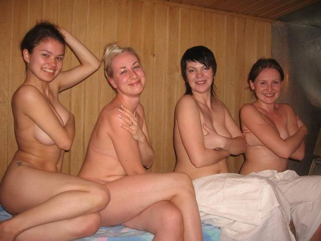 Naked sluts steamed in hot sauna 15 photo