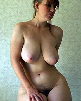 Depraved bbw with cool tits at home