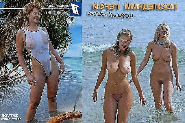 Anna Semenovich surprised by her luxury tits 7 photo