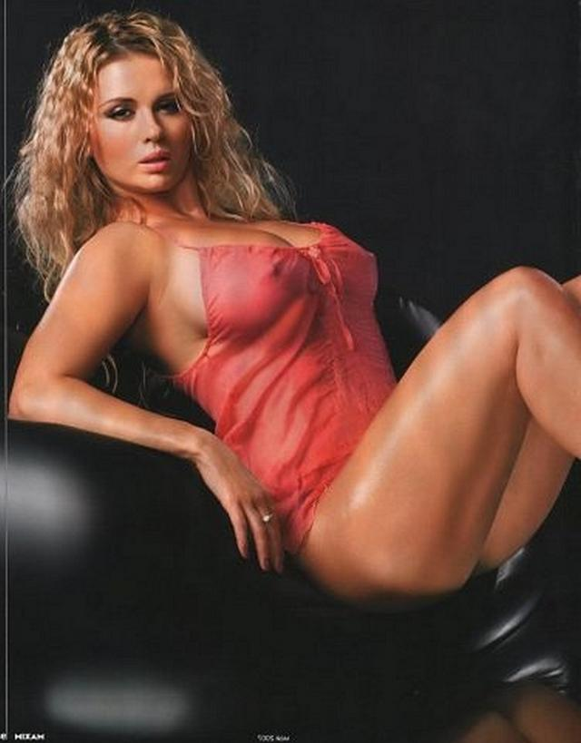 Anna Semenovich surprised by her luxury tits 5 photo