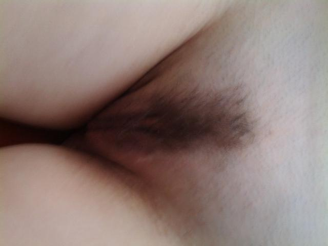 Man jerking on his sleeping girlfriend with hairy pussy 4 photo