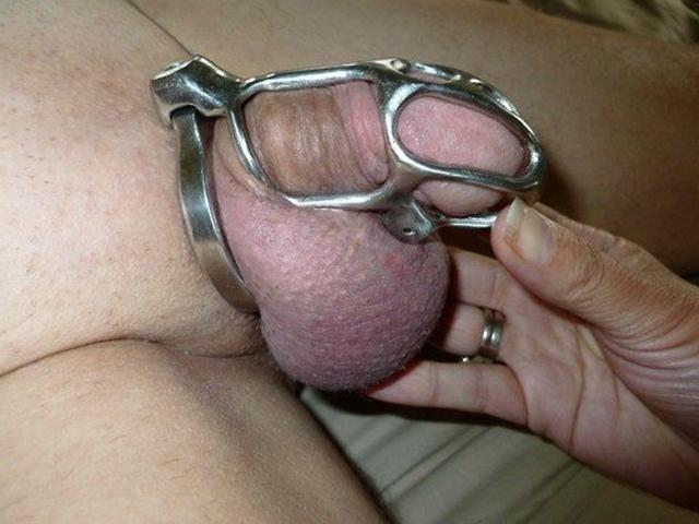 Manacled male dicks in the hands of mistresses 16 photo