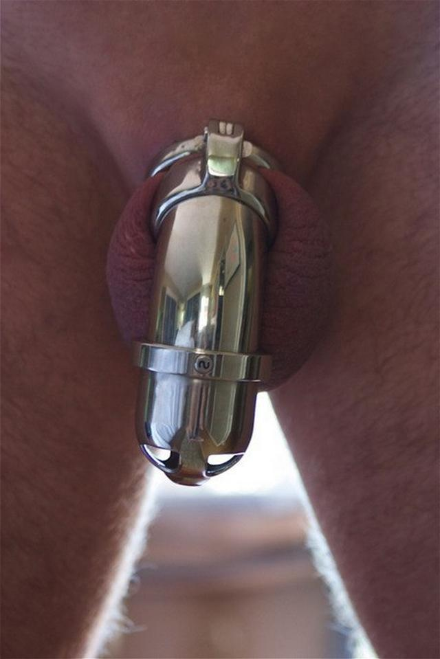 Manacled male dicks in the hands of mistresses 21 photo
