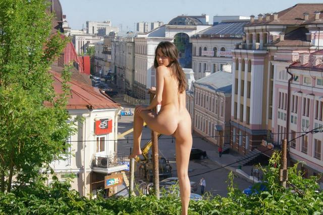 Ready to be photographed naked in the streets 6 photo