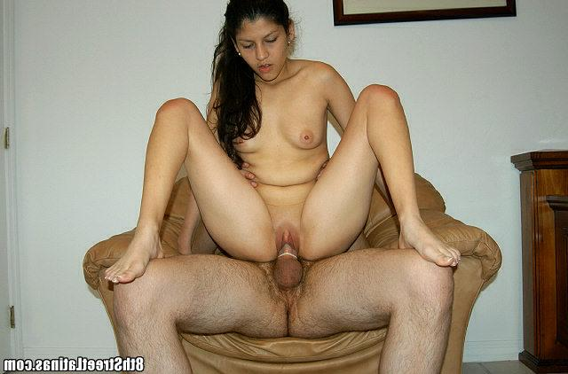 Small Latina pussyfucked and facial with big boyfriend 17 photo