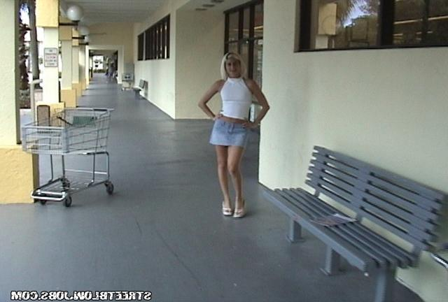 Guy fucked blonde in a short skirt from the street 1 photo
