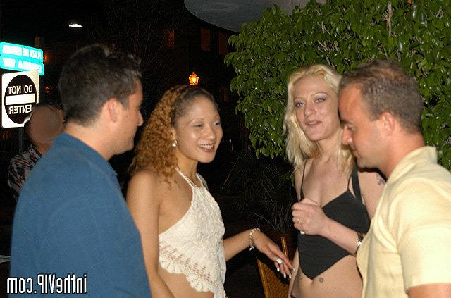 Curly tanned babe have sex in the VIP bar 13 photo