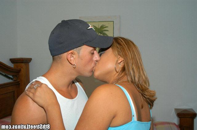 Strong man fucks hot latina Catalin with creamy pussy 5 photo