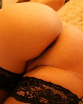 Girls show their round tasty asses