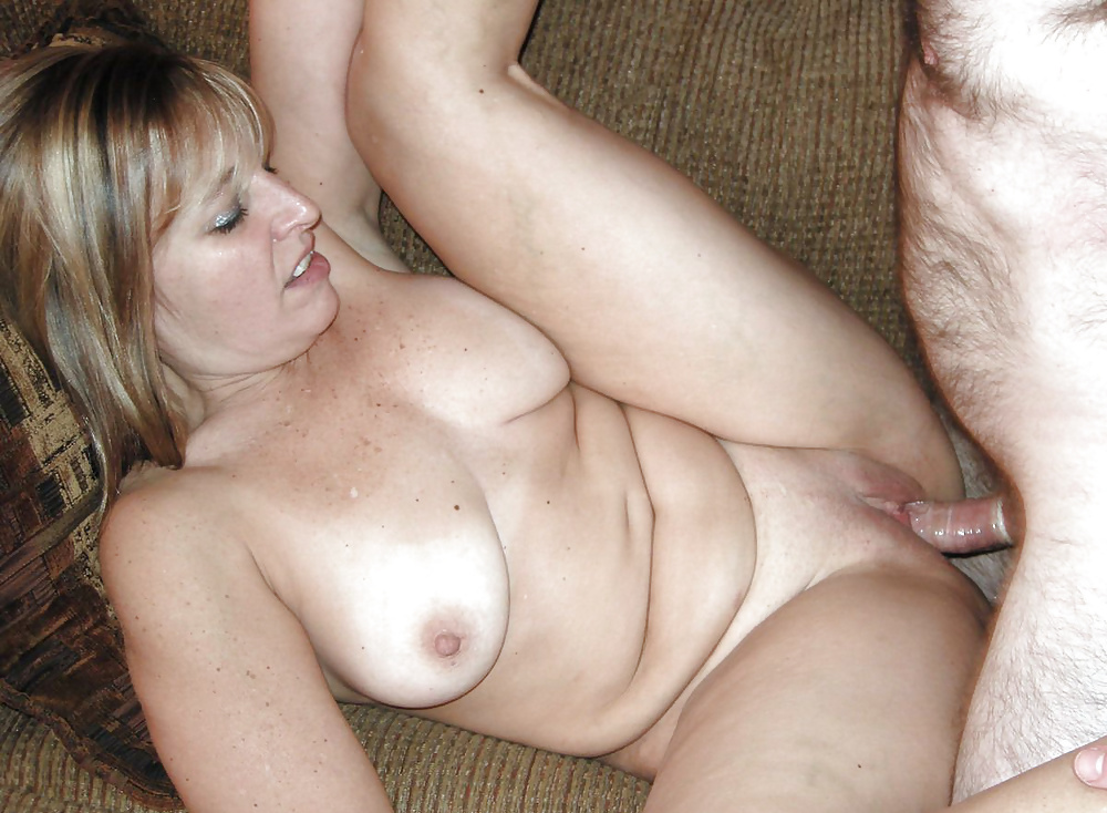 Two men fuck excited woman at her home 23 photo