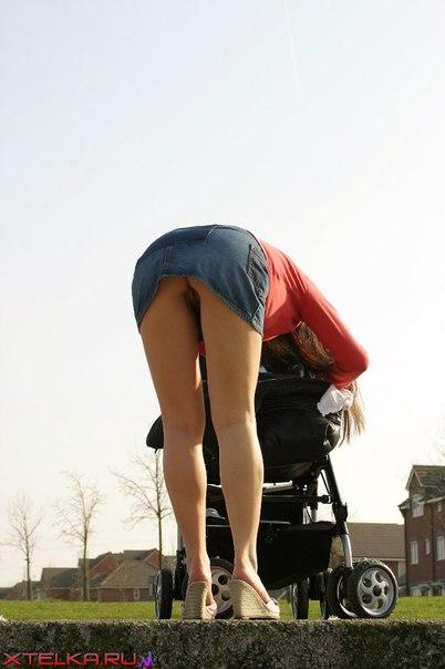 фото голой мамаши с коляской