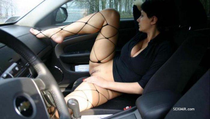 Куни в авто фото