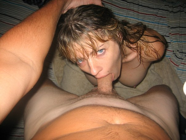 Amazing slut with big boobs sucking big dick 2 photo