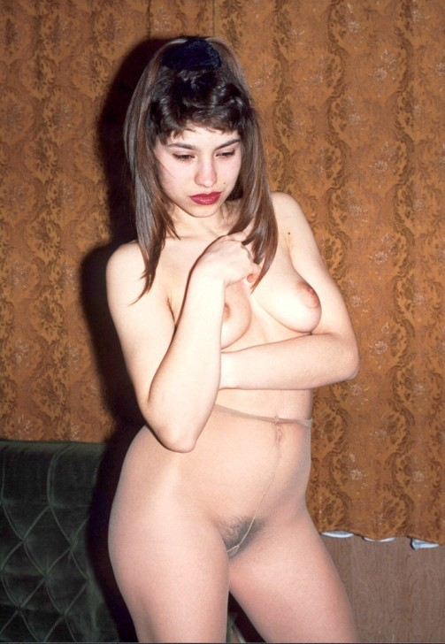 Wife with hairy pussy on photo of two decades ago 2 photo