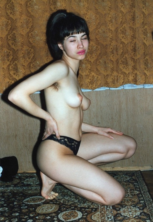Wife with hairy pussy on photo of two decades ago 3 photo