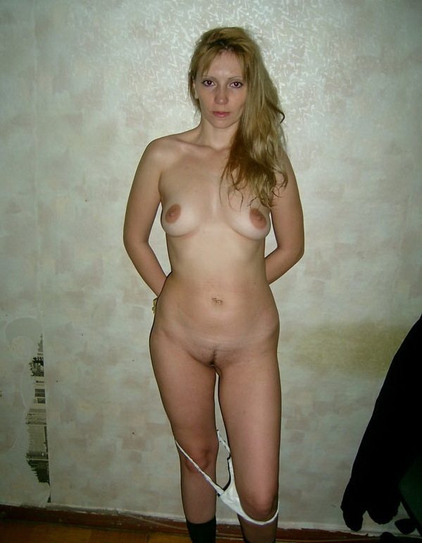 Russian mom stripped by the wall 6 photo