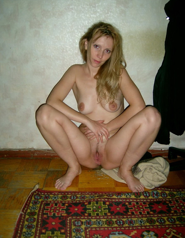 Russian mom stripped by the wall 11 photo