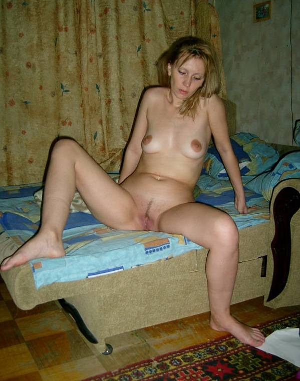 Russian mom stripped by the wall 15 photo