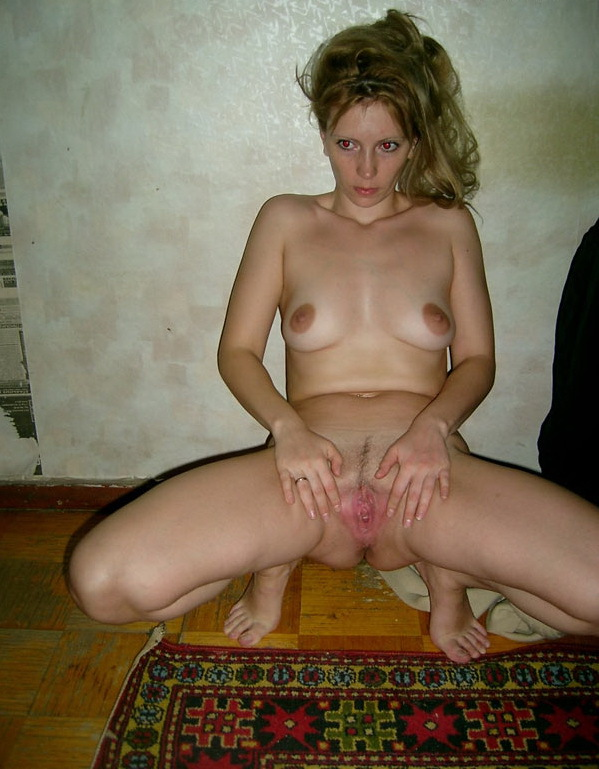 Russian mom stripped by the wall 10 photo