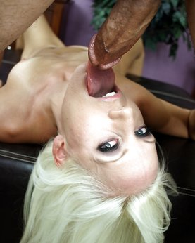 Deepthroat photo - hard fuck in mouth