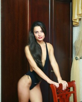 Naked beautiful wives at home waiting for husbands