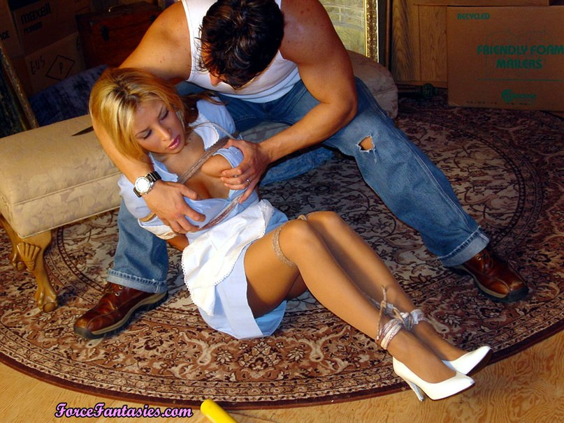 The robber raped pretty sexy maid 12 photo