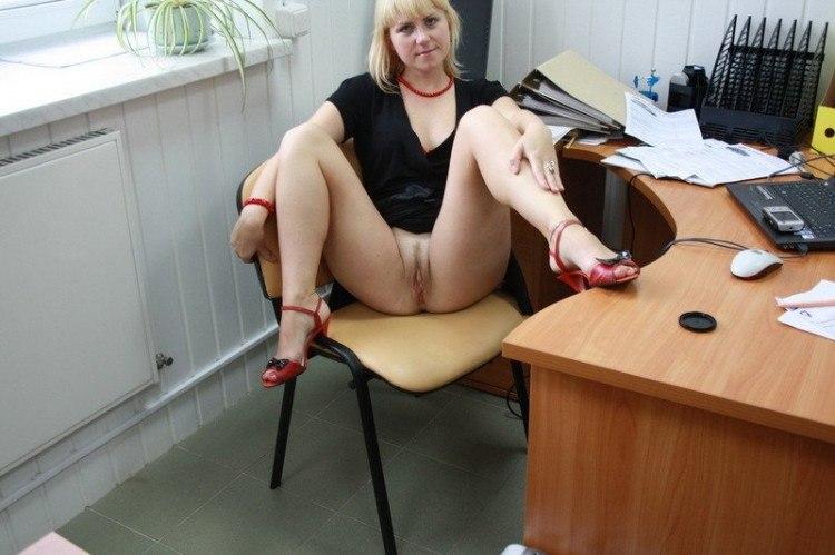русское порно фото секретарша
