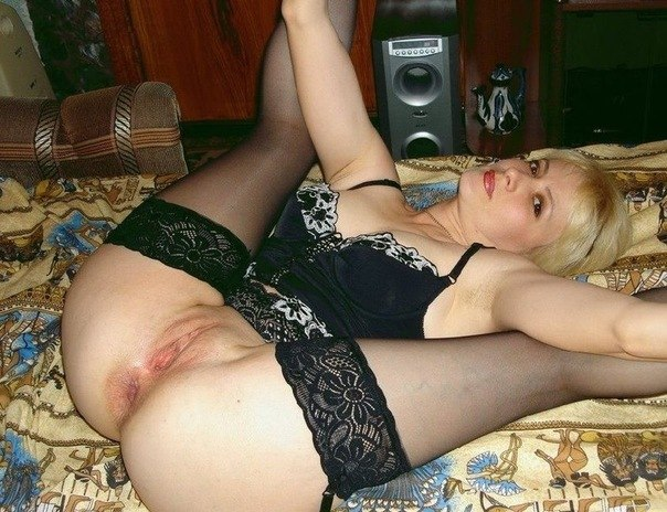 Mature-aged wife with a beautiful figure 11 photo