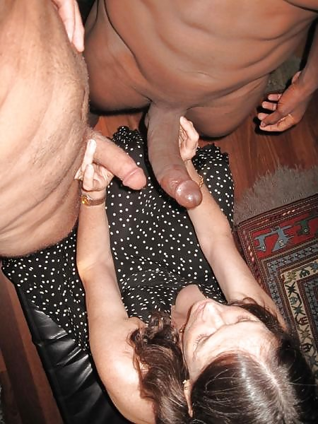 Lady humiliates her kukold - sex with black men 11 photo