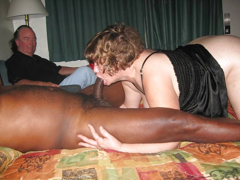 Lady humiliates her kukold - sex with black men 7 photo