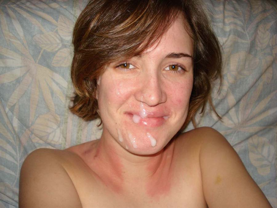 любительское фото сперма на лицах
