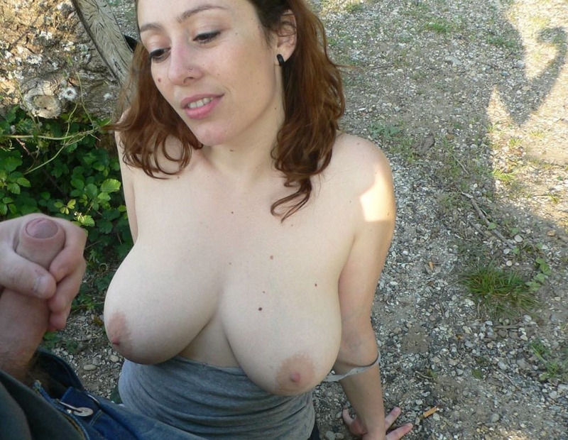 Busty slag likes cum on her body 2 photo