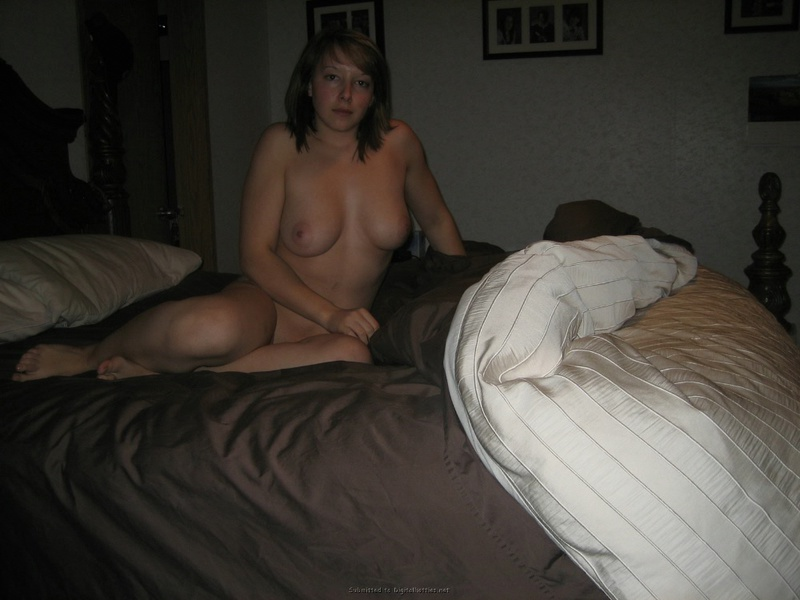 Girl with rosy cheeks playfully undressed and lay down on the bed 10 photo