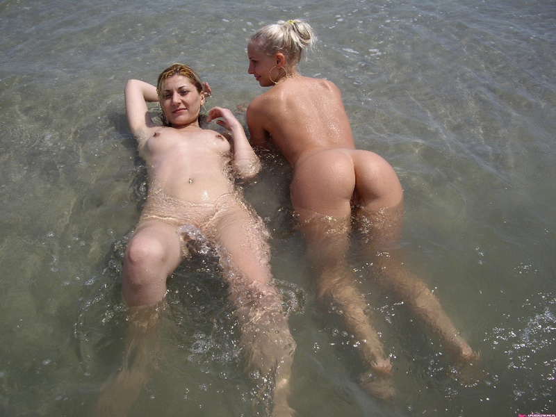 Lesbians very defiantly having fun at sea 4 photo