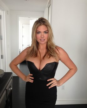 Sex photo of busty hot model Kate Upton