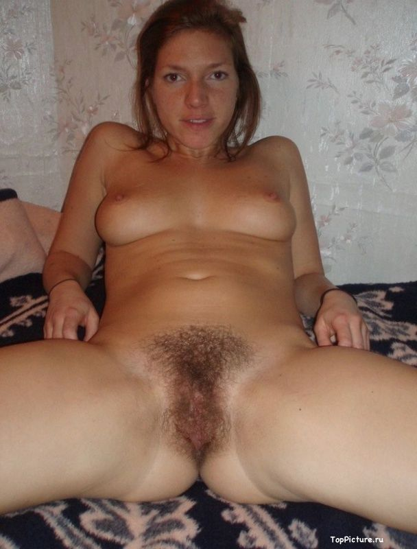 Ginger slut with unshaven pussy sucks and fucks 12 photo