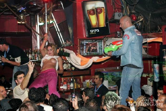 Party with naked drunk bitches in Tel Aviv 1 photo